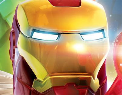 Lego Marvel Super Heroes Part 2: Key Art and Print Ads