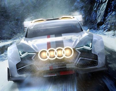 Audi quattro Group B Concept