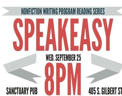 MFA Nonfiction Writing Program: Speakeasy