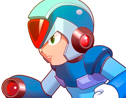 Megaman HD Concept art (Fake)