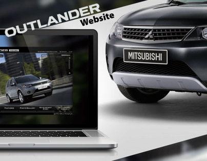 MITSUBISHI OUTLANDER website 2008