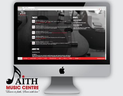 Faith Music Centre Website