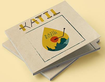 Fun CD design for KATIL band
