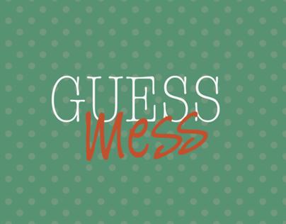 Guess Mess - iPad Game