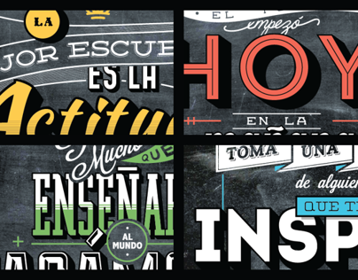 Lettering Posters