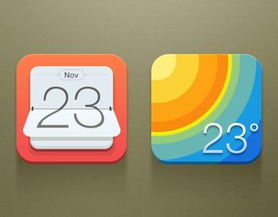 Calendar & Weather