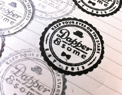 Dapper & some rubber stamp