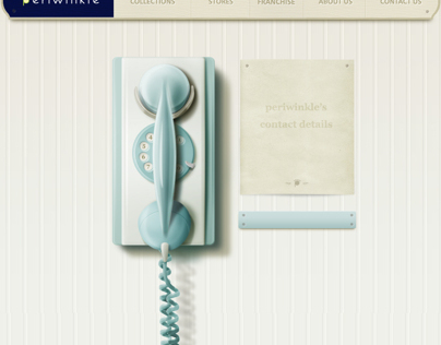 Periwinkle Website Design 2011