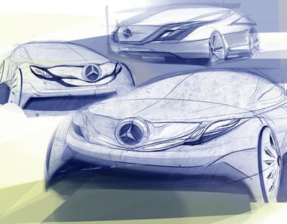Mercedes-Benz Hommage project Kecskemet