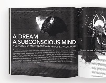 A Dream, A subconscious mind.