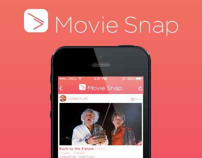 Movie Snap - Image Share App