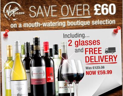 Virgin Wines - Email Marketing Samples 2013