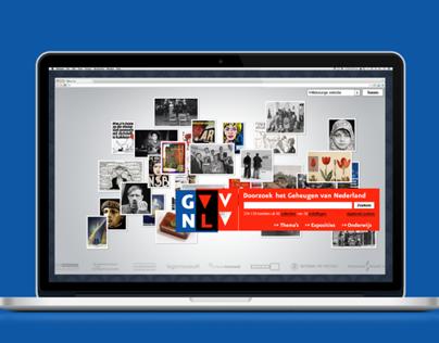 Het Geheugen van Nederland website