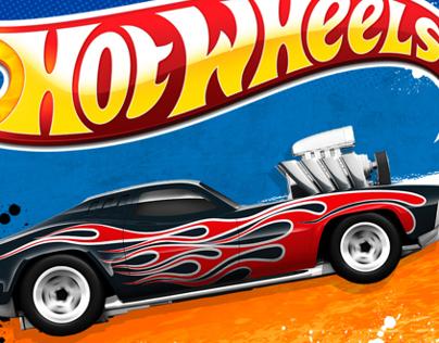 HOT WHEELS™--packaging/branding Mattel Toys