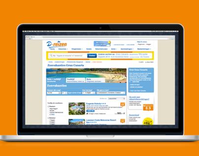 D-reizen website