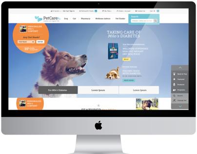 PetCareRx Site Redesign