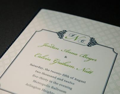 Boyer Nutt Wedding 2012