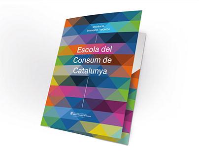 Escola del Consum de Catalunya. Folder