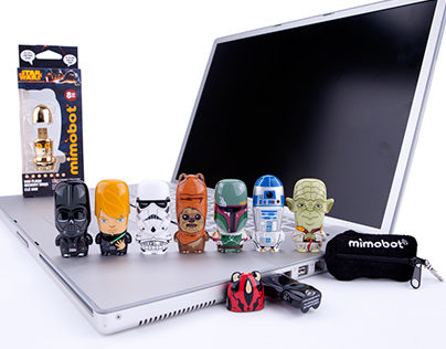 Star Wars MIMOBOT USB Flash Drives