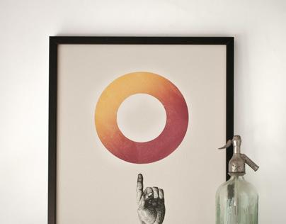 O+finger (red _ orange red)
