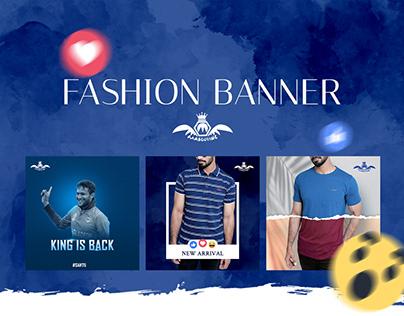 Fashion Banner (Masculine)