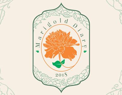 Marigold Diary Logo Design