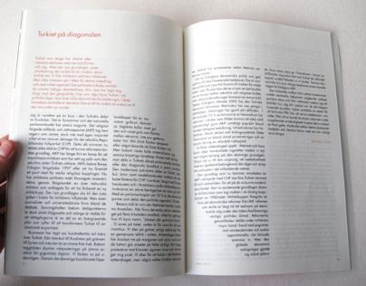 Exploring magazine: Typeface to production