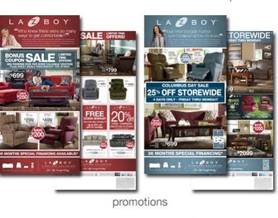 La-Z-Boy Promotional Pieces