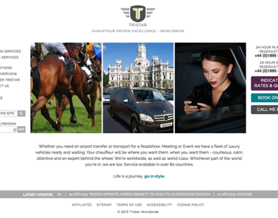 Tristar Reactive Website Design