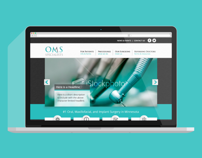 OMS Specialists Website, Twin Cities Oral Surgeons