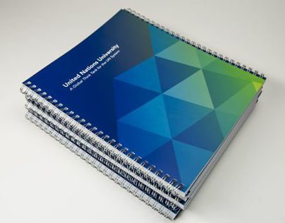 United Nations University Spiral Notepad