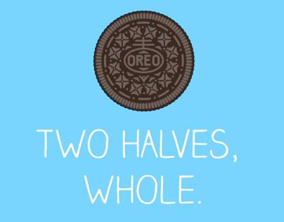 Oreo - Two Halves, Whole.