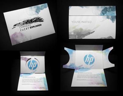 HP Graphic Arts Experience Center Invitation