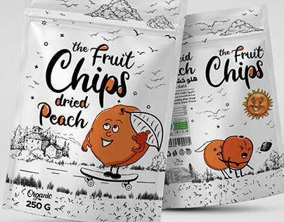 The Fruit Chips Packaging deisgn