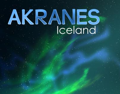 Akranes - Poster