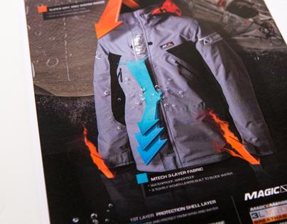 Magic Marine Advertising - Coastal 3L Jacket