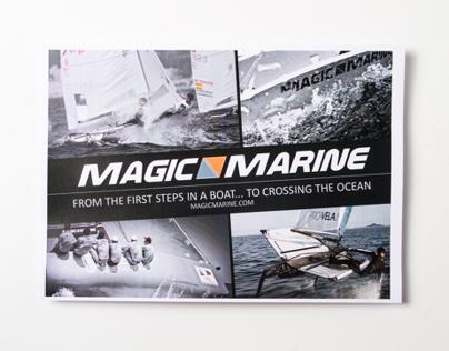 Magic Marine Advertising - Brand promotion flyer