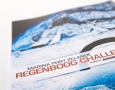 Magic Marine Event Flyer - Regenboog event
