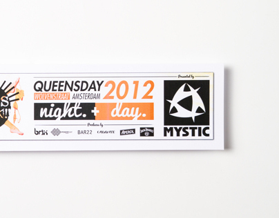 She's Back - Quensday party branding. Netherlands