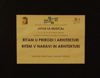 Workshop and exhibition: Ritam u prirodi i arhitekturi