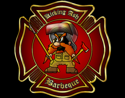 BBQ Logo For Firefighters