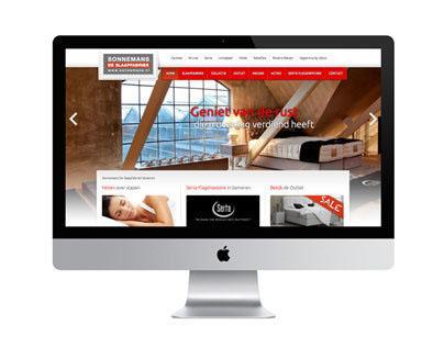 Website Sonnemans De Slaapfabriek