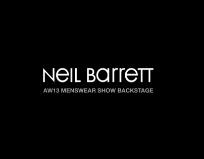 NEIL BARRETT AW2013 // SHOWCASE