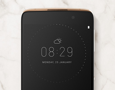 Product Experience design for Alcatel mobile