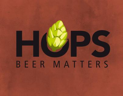 HOPS Magazine Branding
