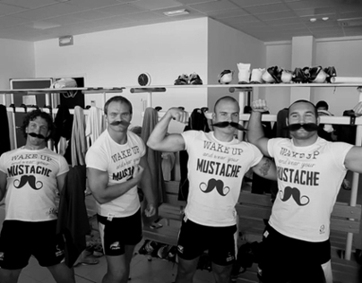 Movember 2013. Are you ready for the moustache match?