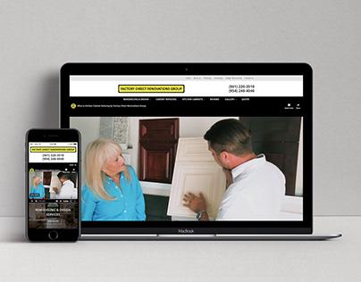 Factory Direct Renovations Website