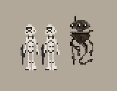 Star Wars Pixels // (wip)