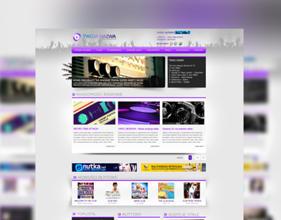 Project for web radio