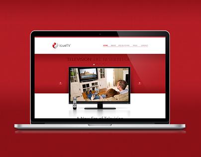 icueTV - Web Design